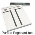 Dekstrimetri - Purdue Pegboard test