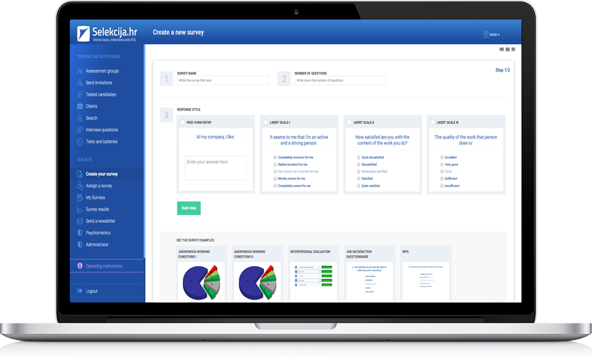EMPLOYEES SURVEYS AND ASSESSMENT 360°